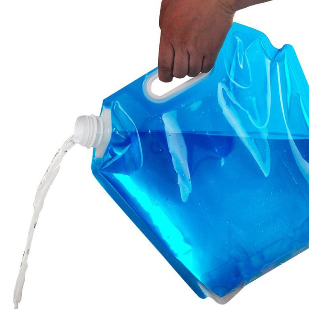 20L Collapsible Water Container Portable Mobile//Emergency Water Storage Cube in Water Bag water bag for Outdoor Camping Hiking Climbing Backpacking BESTZY 10L