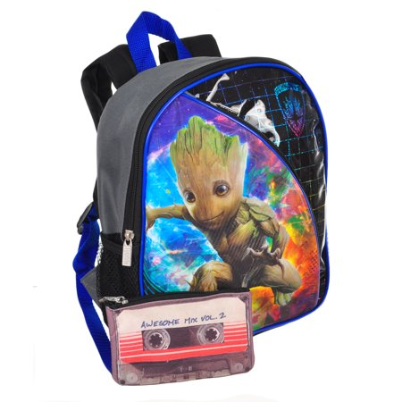 ca8a58dd2a Guardians of the Galaxy - Mini Backpack with Pouch - Walmart.com