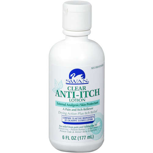 Swan: External Analgesic/Skin Protectant Clear Anti-Itch Lotion, 6 Fl Oz