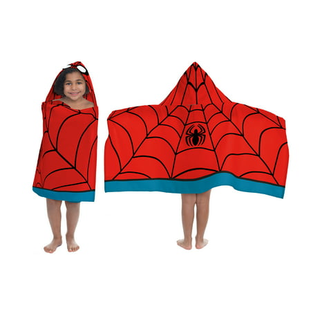 Marvel Ultimate Spiderman Hooded Towel, 1 Each - Hooded Towels For Teens