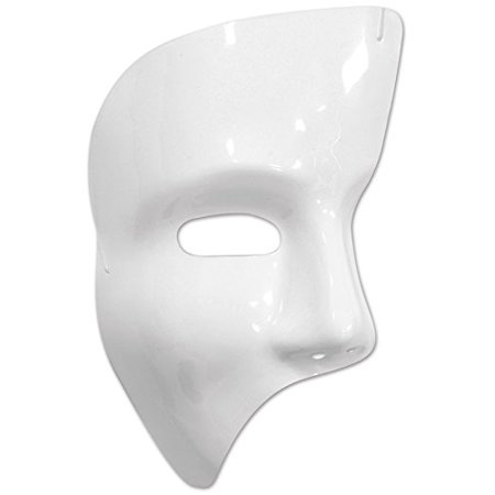 Phantom Mask (white; elastic attached; one size fits most)