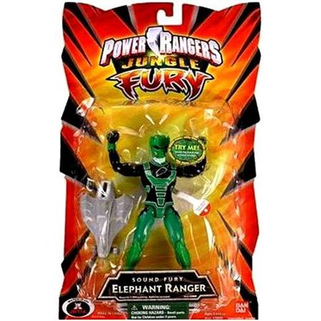 Power rangers jungle fury sound fury elephant ranger action figure power rangers jungle fury sound fury elephant ranger action figure voltagebd Image collections