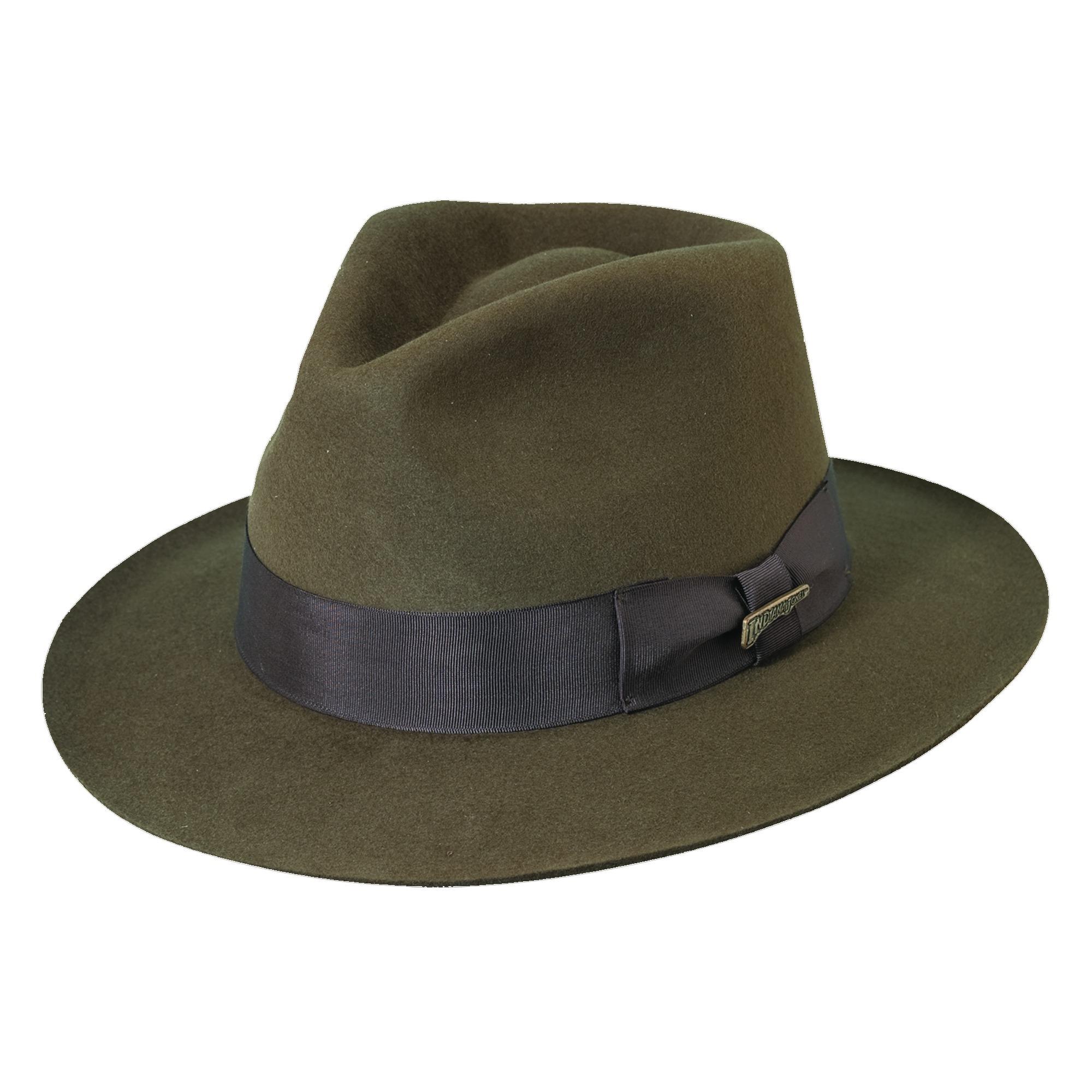 Dorfman Pacific Men's Fur Felt Indiana Jones 2.5 Inch Bri...