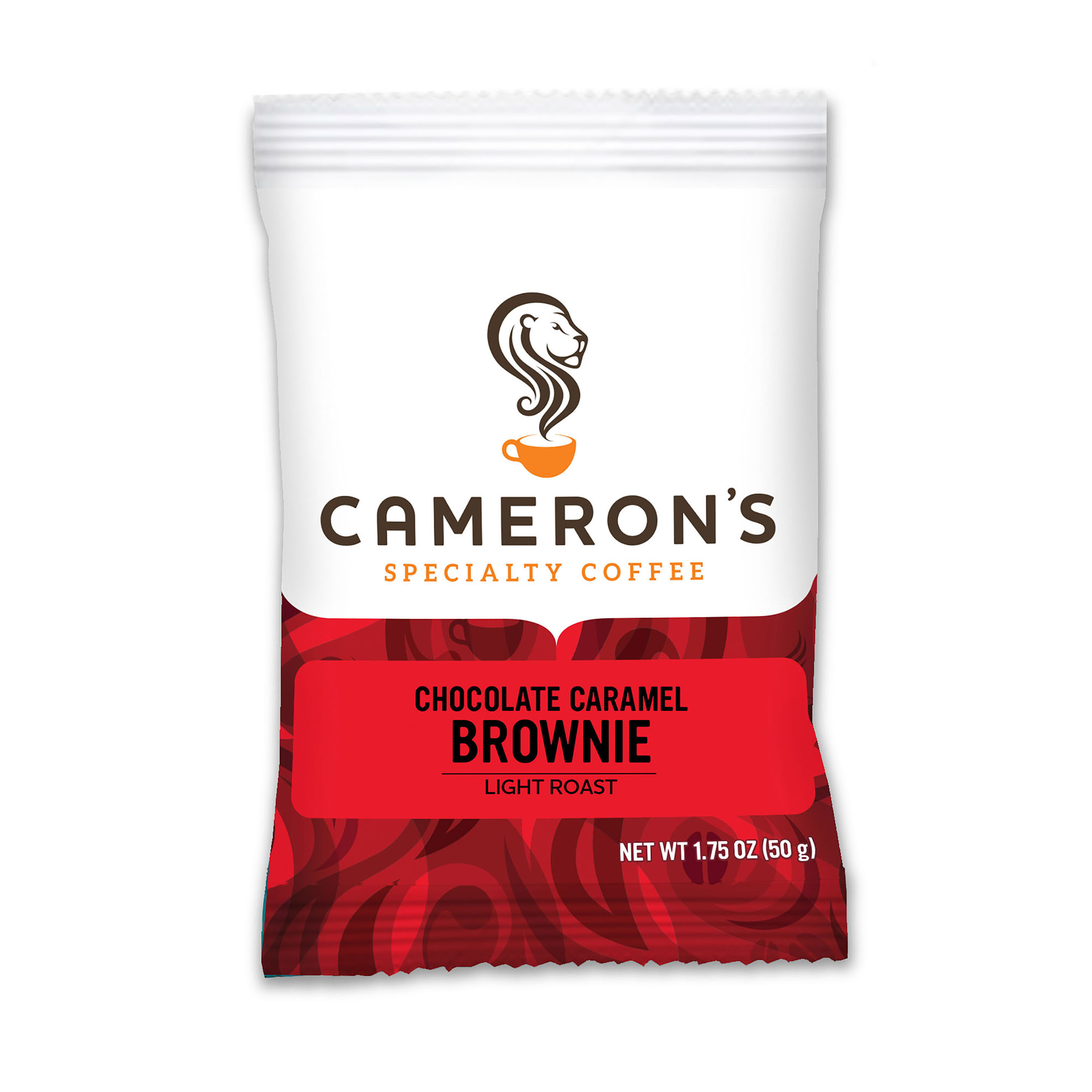 Cameron's Specialty Coffee Chocolate Caramel Brownie Ground, Portioned Packet, 1.75oz