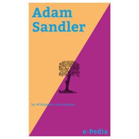 e-Pedia: Adam Sandler - eBook (Halloween Adam Sandler)