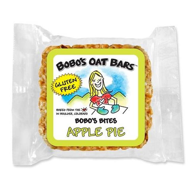 Bobos Oat Bars BPC1059863 Bites, Apple Pie, Gf, 6 x 5 x 1. 3 Oz.