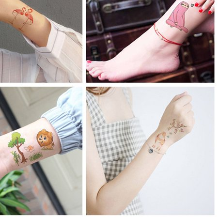 New original cartoon animal tattoo stickers fun children's tattoo stickers - image 5 of 5