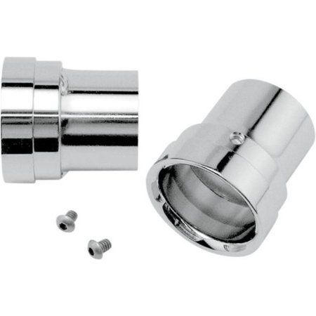 Vance & Hines 16919 Billet End Caps for Big Shots Exhaust - Straight - Chrome