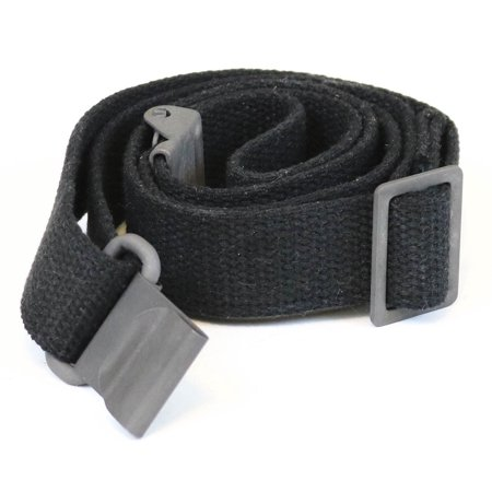 AmmoGarand M1 Garand Rifle Sling Black Cotton Web Two Point for M1A/M14 US Production
