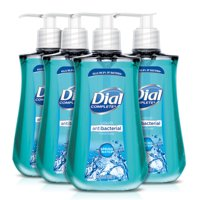 (Pack of 4) Dial Antibacterial Liquid Hand Soap, Spring Water, 9.375 Ounce