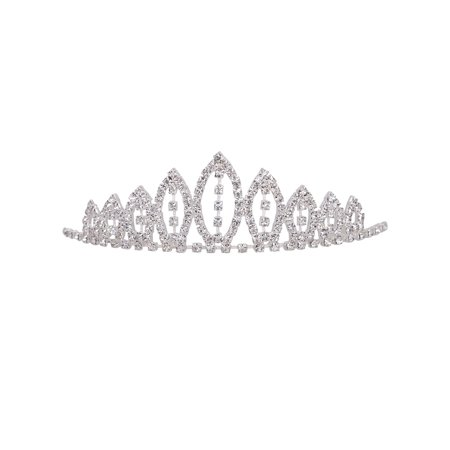 Girl's Rhinestone Tiara Crown Little Princess Sweet Hair Accessory](Real Princess Tiaras)