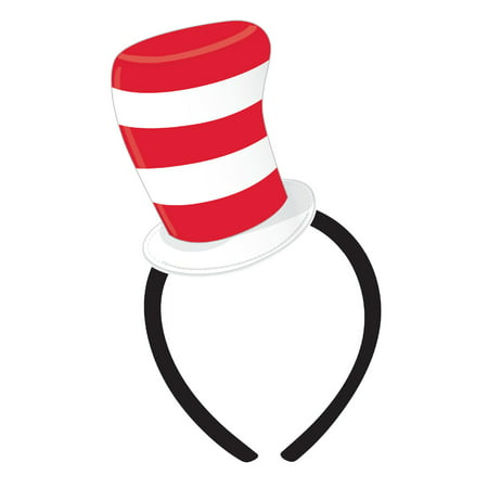 Cat And The Hat Hats (Cat in the Hat Felt Hat Headband (No)