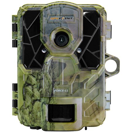 Spypoint 11 Megapixel Invisible Flash Game Camera With Video Camo, FORCE-11