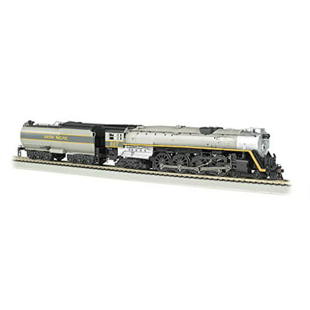 Bachmann 53502 HO Union Pacific 4-8-4 Steam Locomotive and Tender #80 Multi-Colored