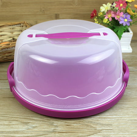 Plastic Cake Keeper Cake Caddy / Holder / Container / Carrier Suitable for 10in Cake or Less Size:Color