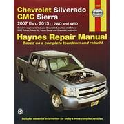 Haynes Repair Manual for Chevrolet and GMC Pick-ups 2007-2012 (24067)
