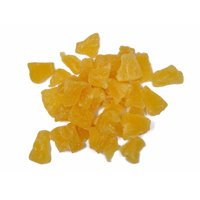 Pineapple Chunks, Dried, Packed In A Perfectly Sealed Bag, Two Pounds