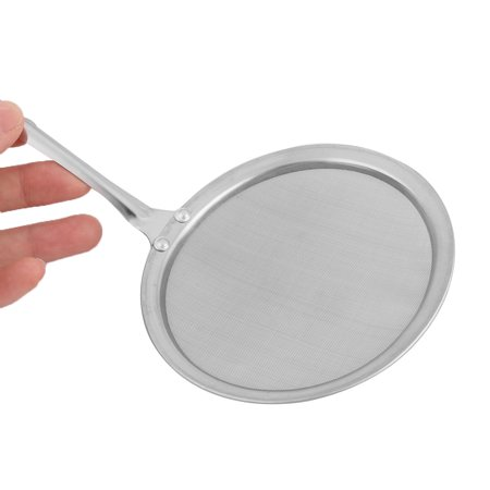 Kitchen Stainless Steel Perforated Ladle Mesh Strainer Skimmer Silver Tone - image 3 of 4