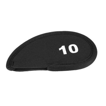 Unique Bargains Golf Head Cover Club Iron Putter Head 10 Wedge Protector Case