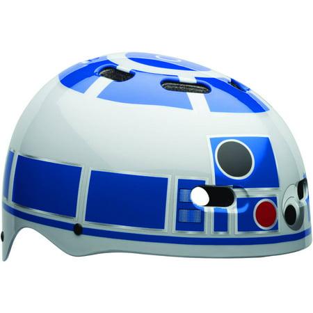 Bell Sports Star Wars R2D2 Child Multisport Helmet, White/Blue - Star Wars Helmets