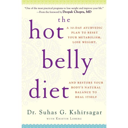 The Hot Belly Diet  A 30 Day Plan To Reset Your Metabolism  Lose Weight  And Restore Your Bodys Natural Balance To Heal Itself