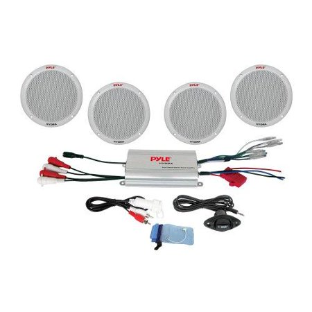 4 Channel Waterproof MP3/ iPod Amplified 6.5