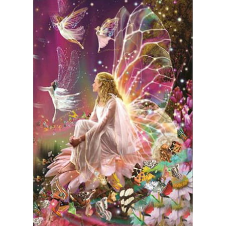 12 * 16 inches DIY 5D Diamond Painting Kit Fairy Resin Rhinestone Mosaic Embroidery Cross Stitch Craft Home Wall Decor - Painting Fails