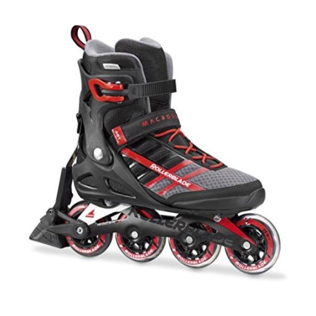 MACROBLADE 84 ABT Black//red Men Rollerblade Macroblade 84/Mens Inline Skates