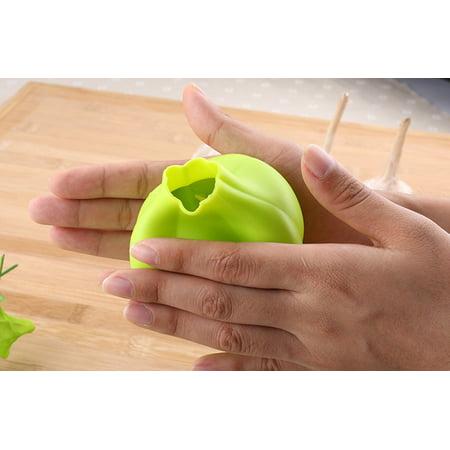 Silicone Press Garlic Crusher Kitchen Gadget Vegetable Peeler Home