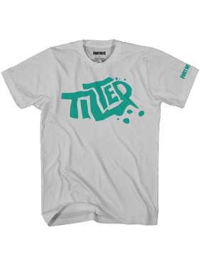 Fortnite Shirt Boys' Tilted Towers Graffiti Logo T-Shirt