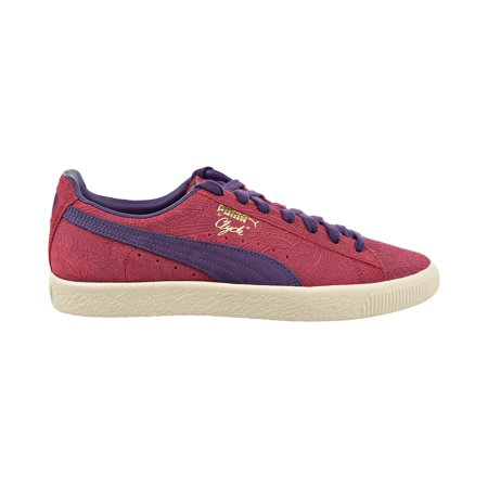 Puma Clyde Paisley Men's Shoes Barbados Cherry/Indigo/Whisper White 369279-01
