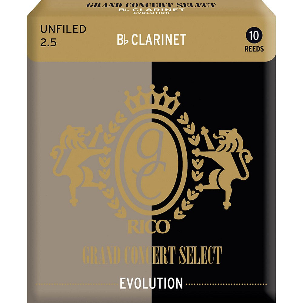 Grand Concert Select Evolution Clarinet Reeds Strength 2.5 by Grand Concert Select