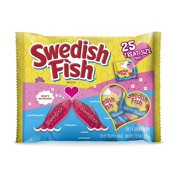 Swedish Fish Fat Free Soft Candy Valentines Day Pack, 13.23 oz