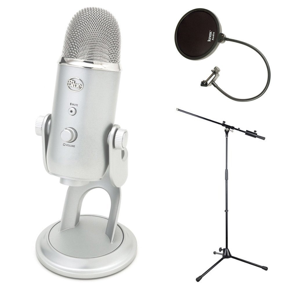 Blue Microphones ETI USB Condenser Plug-and-play Microphone with Kit by Overstock
