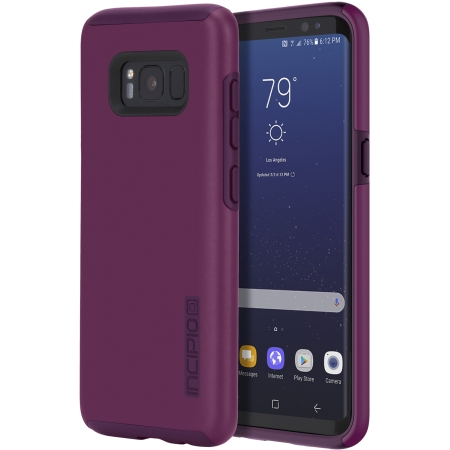 Incipio DualPro Case for Samsung Galaxy S8 in Plum by Incipio Technologies