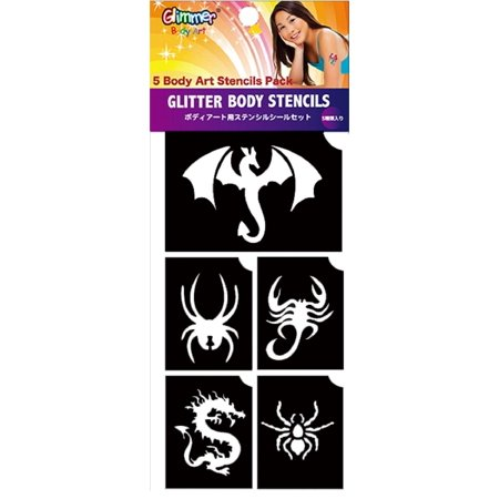 Dragons & Spiders Stencils - NEW
