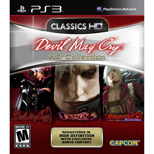 Devil May Cry Collection, Capcom, Playstation 3, 00013388340415