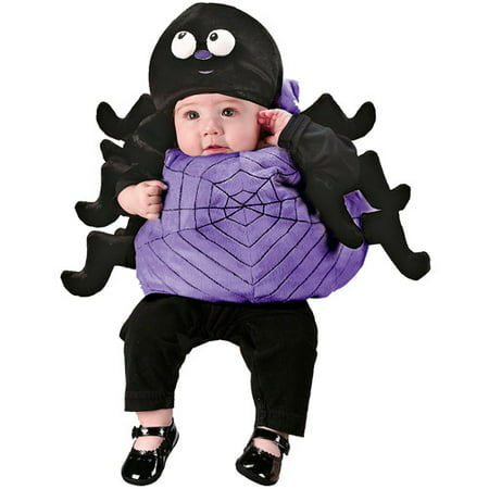 Infant Silly Spider Halloween Costume - One Size 6-12 - Halloween Spider Face Makeup
