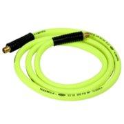 "Flexzilla® Whip Hose with Swivel, 1/2"" x 8' (3/8"" MNPT Swivel x 3/8"" MNPT Fittings)"