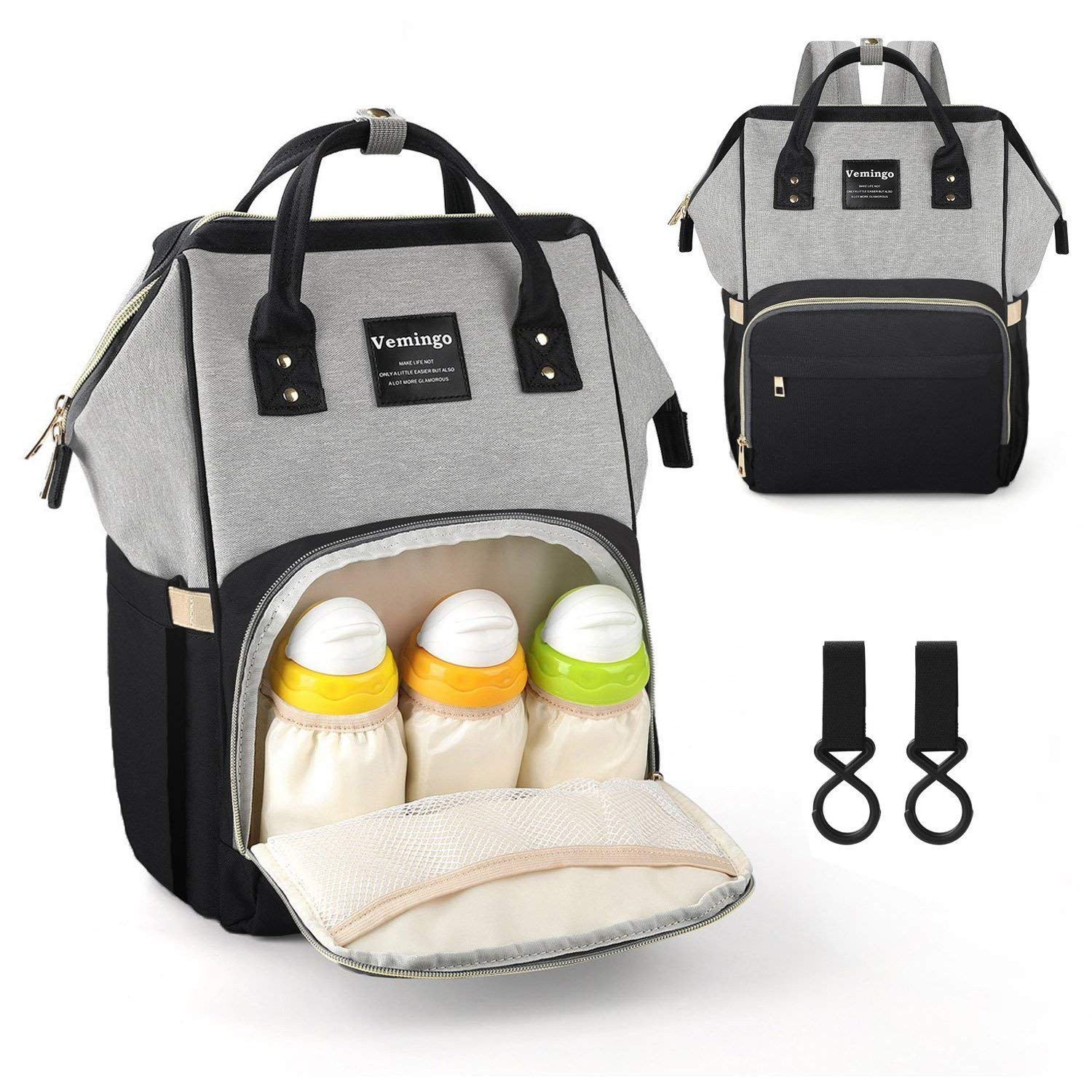 baby bag large-capacity multi-functional fashionable shoulders diaper backpack mothers portable baby care bag