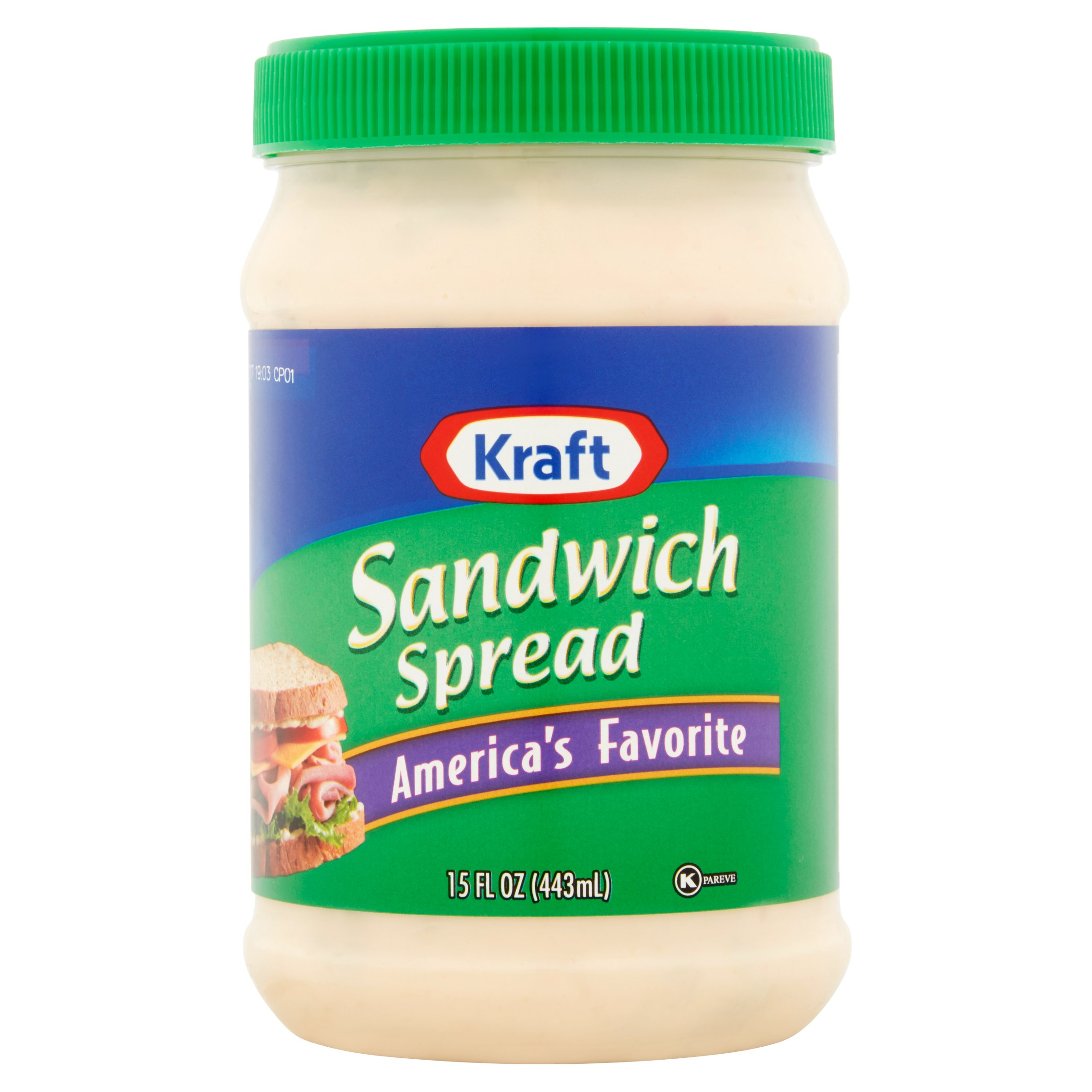 UPC 021000026999 - Kraft Sandwich Spread, 15-Ounce Jars ...
