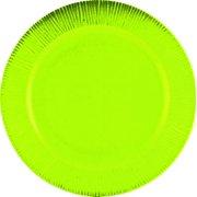 PLATE DINNER 11IN DARK GREEN