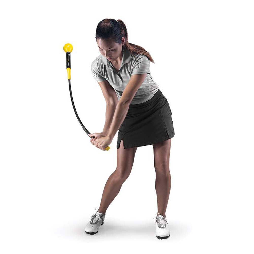 SKLZ Gold Flex 40 Inch Golf Swing & Tempo Trainer Trainin...