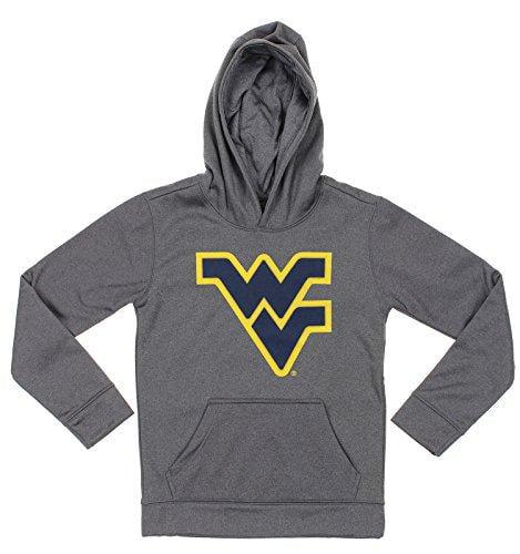 NCAA Youth West Virginia Mountaineers Pullover Grey Hoodie