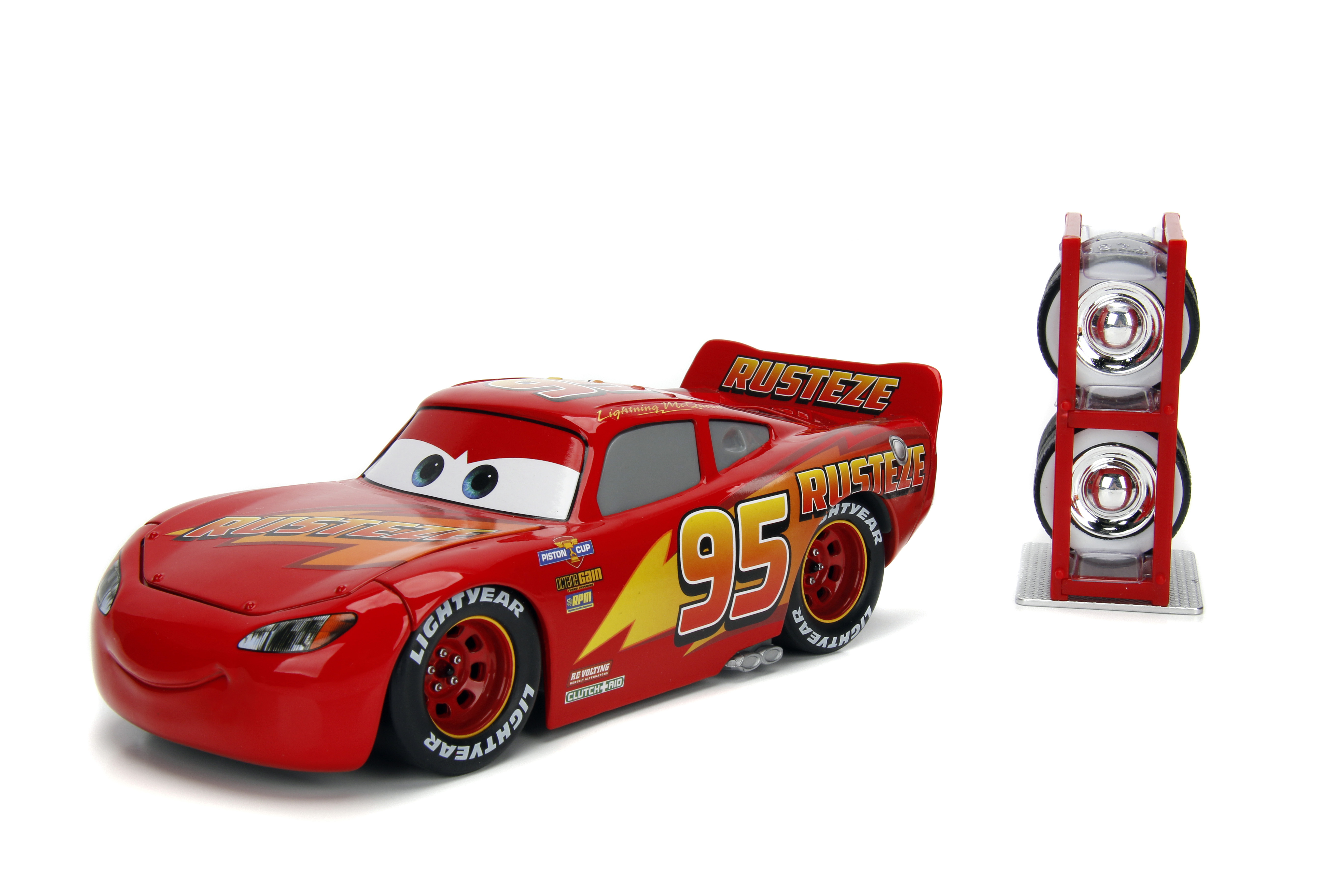 Hollywood Rides 1 24 Scale Disney Cars Lightning Mcqueen Ramone