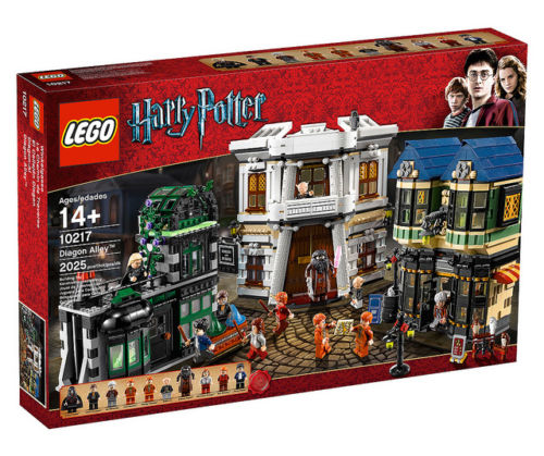 Lego Harry Potter Series 2 Diagon Alley Exclusive Set #10217 by LEGO Systems, Inc.