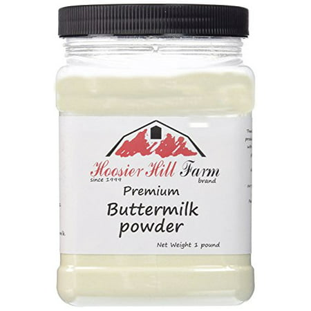 Hoosier Hill Farm Buttermilk Powder, 2 lbs plastic jar