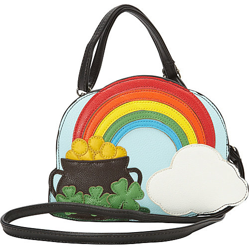 Ashley M The End Of The Rainbow Crossbody Bag