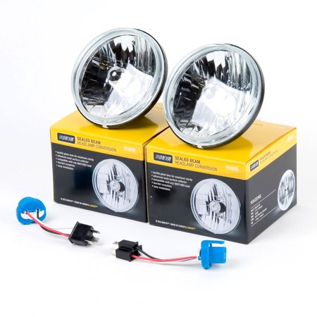 "Nokya Sealed Beam Headlight Conversion Kit 5.75"" Round H5006 (146mm) NOK2214S SAE / DOT One Pair"