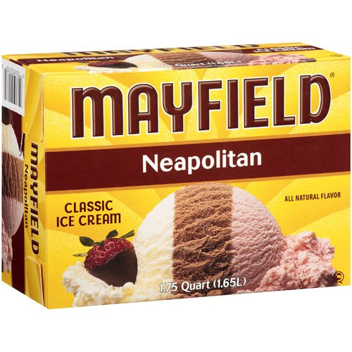 Mayfield: Neapolitan Classic Ice Cream, 1.75 Qt